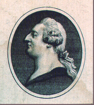 Image of King Louis XVI depicted as a commoner