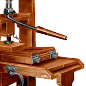 Wooden Printing Press, c. 1750