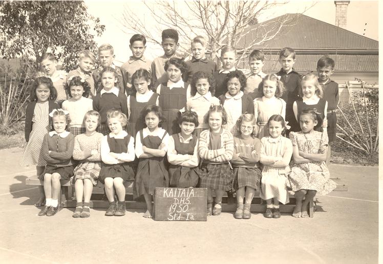 Photograph of school children in 1950