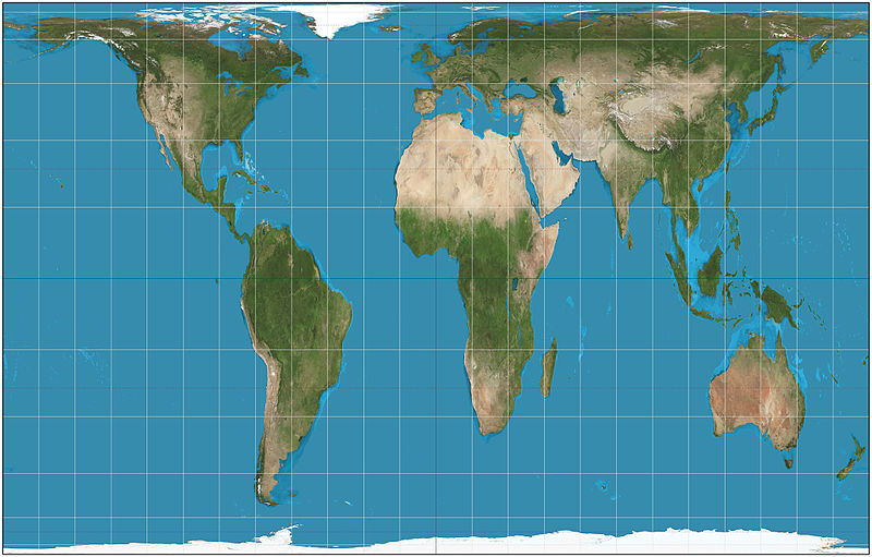 The Gall-Peters Projection Map