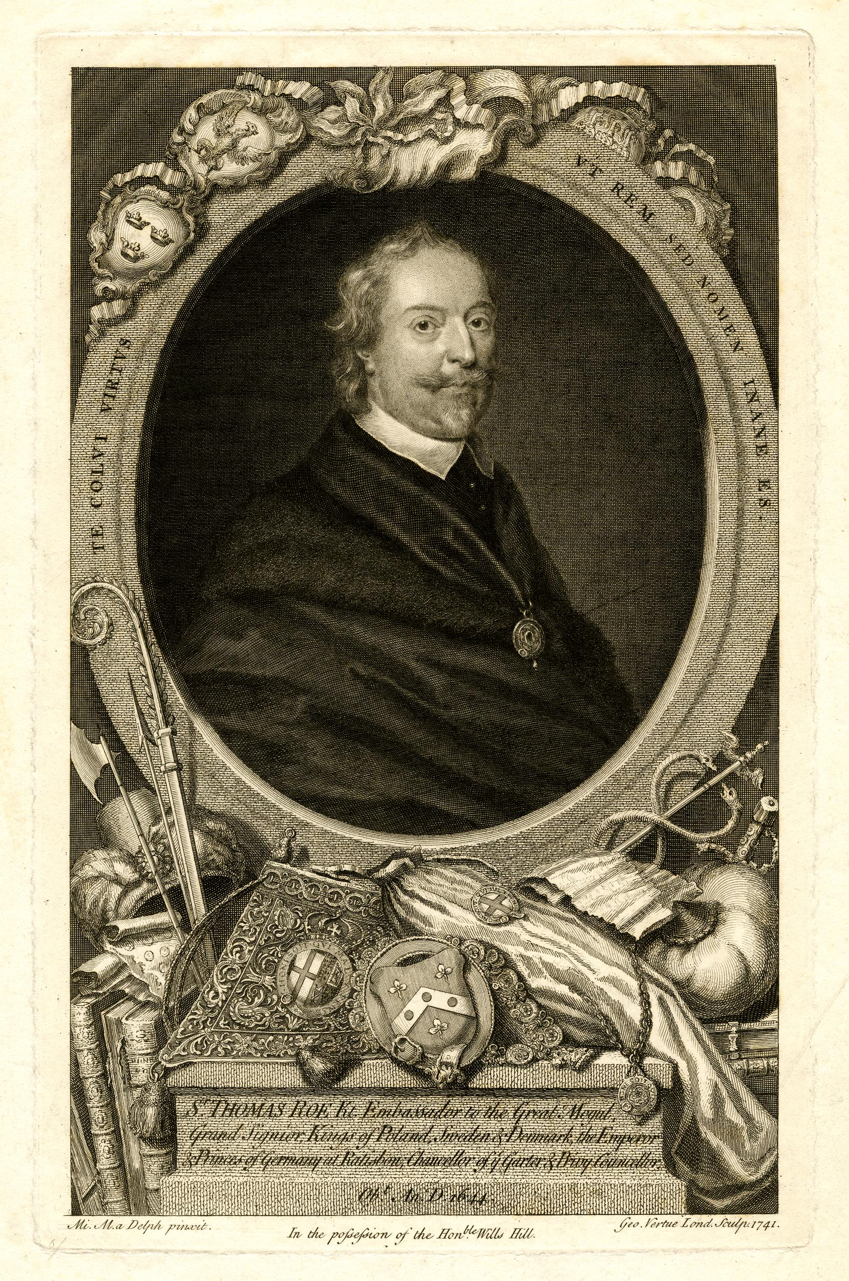 Frontispiece of Sir Thomas Roe