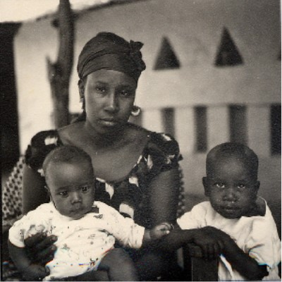 Photograph of a Goudiry Woman and Children