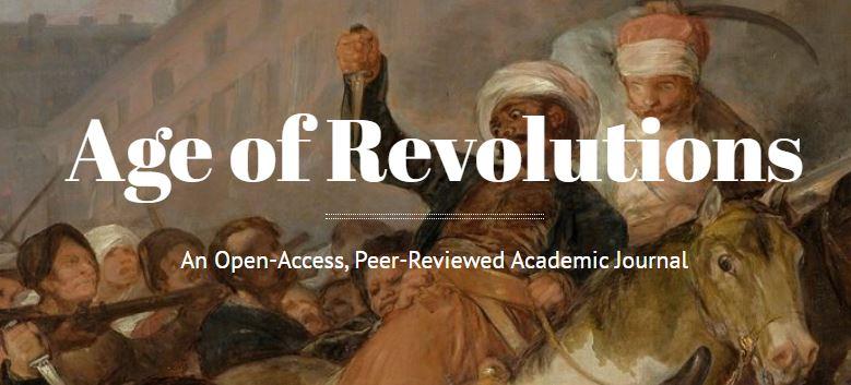 Age of Revolutions website header