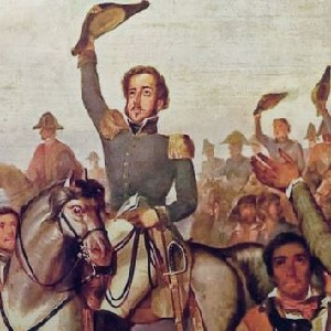 Image of Francois-Rene Moreau on a horse