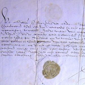 Declaration by the bailiff of Batavia