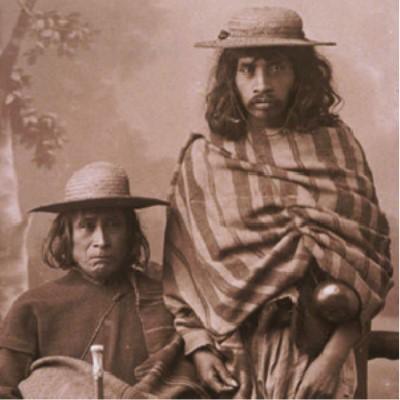 Portrait of Indigenous Men by Lorenzo Becerril ca. 1890-1900