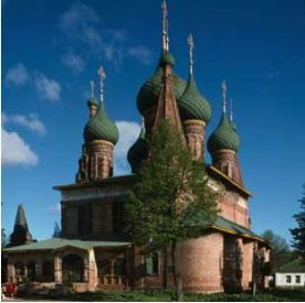 Church of Saint Nicholas Mokryi, southeast view, Yaroslavl, Russia