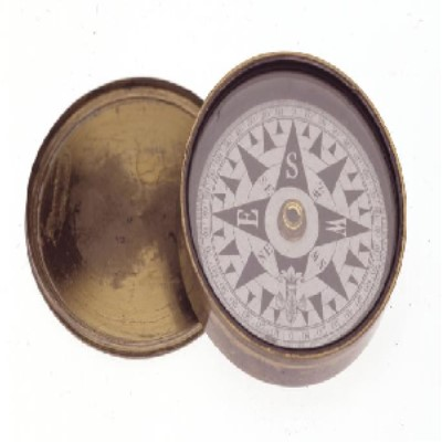 Image of a compass taken on the Burke and Wills expedition