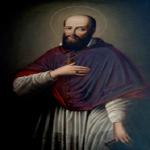 Image of Francis de Sales whose works are included in the online library