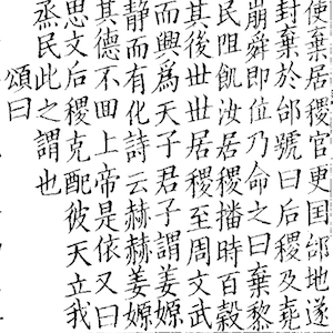 Image of Chinese characters