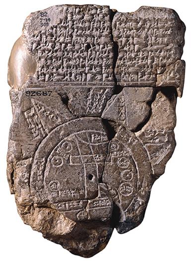Babylonian Map Tablet