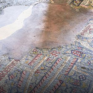 Mosaic from Ancient City of Madaba, Jordan