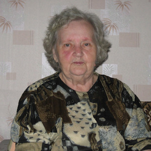 Photograph of Evgeniia Michailovna Peunkova