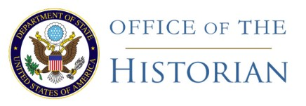 State Department logo and title for the Office of the Historian