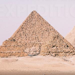 Photograph of the Khafre pyramid