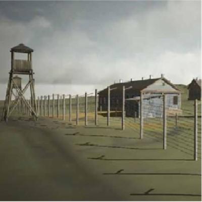 Digital recreation of a gulag