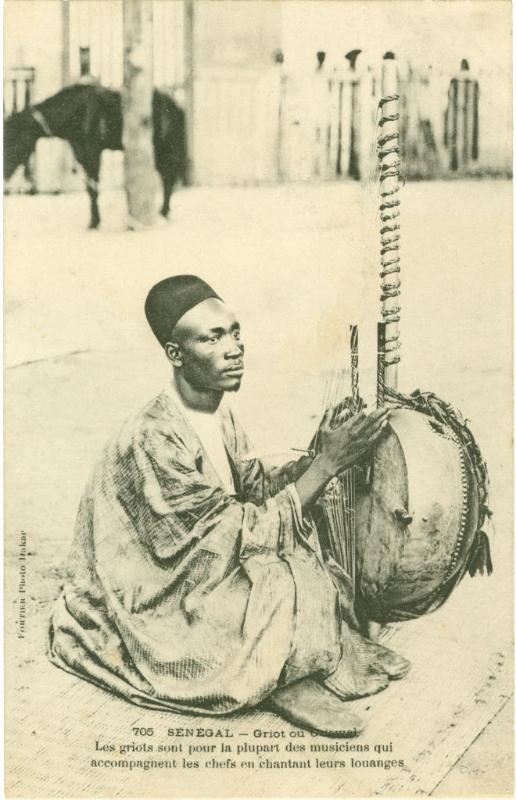 Griots in West Africa