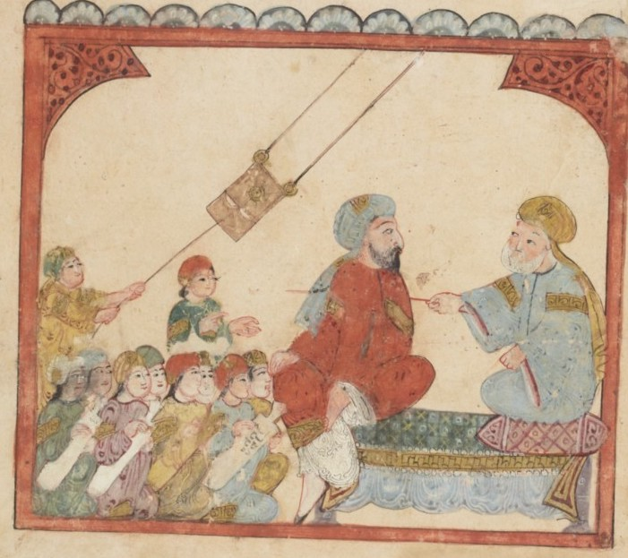 Illustration from The Maqamat of al-Hariri | World History Commons