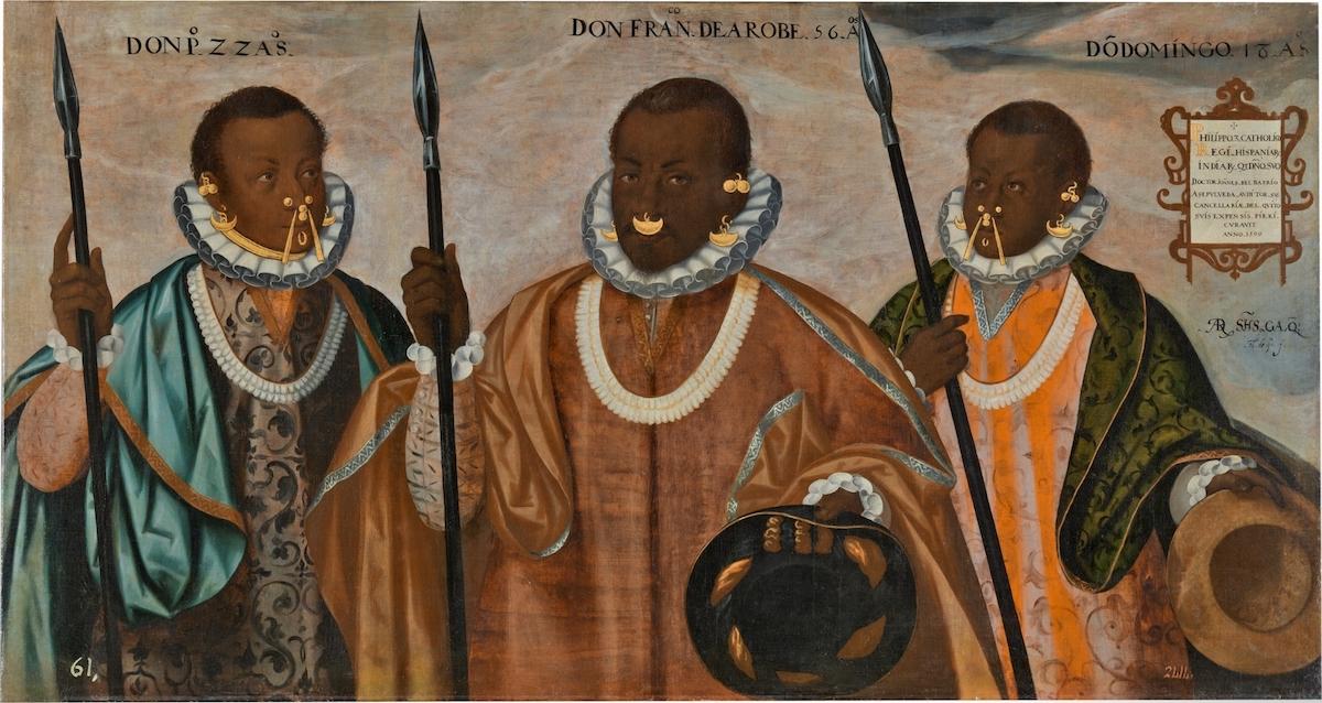 Los tres mulatos de Esmeraldas