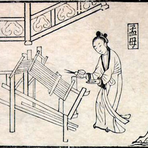 Mencius and his Mother: A Lesson Drawn from Weaving thumbnail