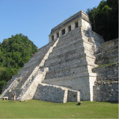 Image of Palenque Ruins in Chiapas, Mexico