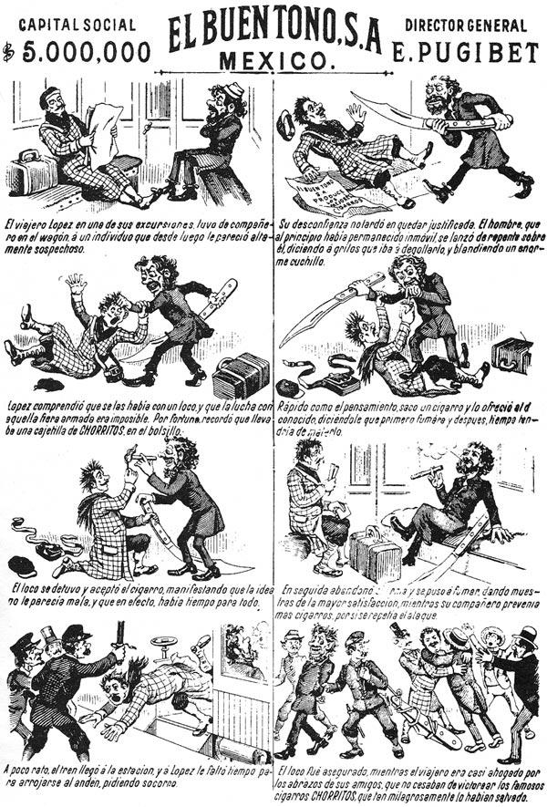 """Eusebio Planas's comic strip """"La Historía de una Mujer"""""""
