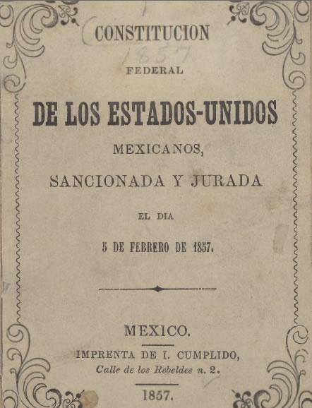 Mexico Constitution 1857
