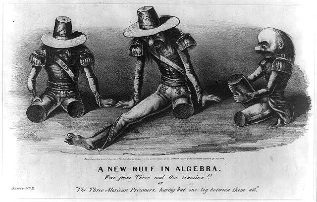 Mexico Cartoon, 1846