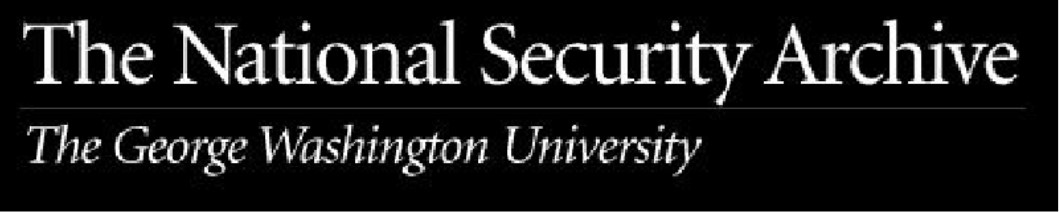 The National Security Archive at The George Washington University logo
