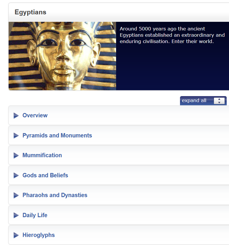 Image of gold and dark blue ancient Egyptian tomb on a black background