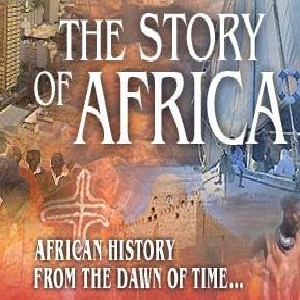 "Image of the website header reading ""The Story of Africa: African History from the Dawn of Time"""
