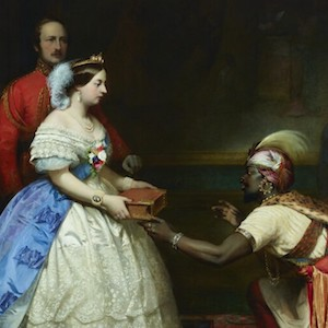 Thumbnail image of The Secret of England's Greatness painting.