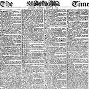 The Times, London, 1863