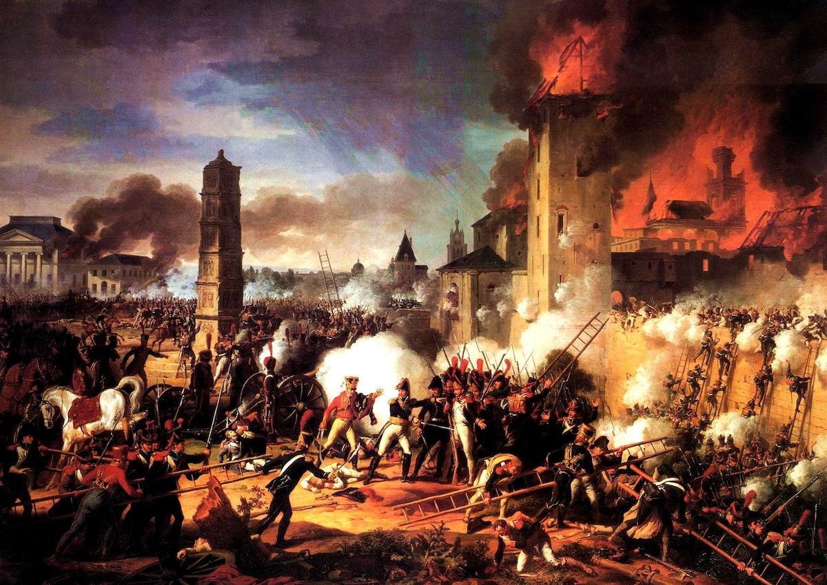 Battle For and Taking of Ratisbon