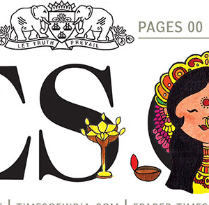 The Times of India masthead from September 28, 2017