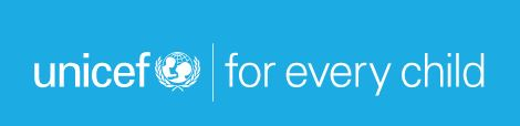 "The image shows the header from the UNICEF website reading ""unicef: for every child"""