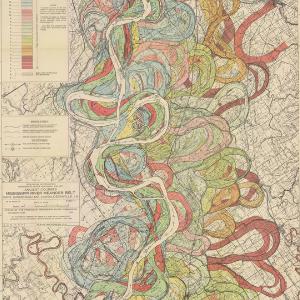 Sheet 7 of Ancient Courses: Mississippi River Meander Belt Map