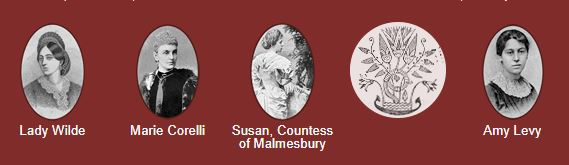Detail of the Victorian Women Writers Project homepage