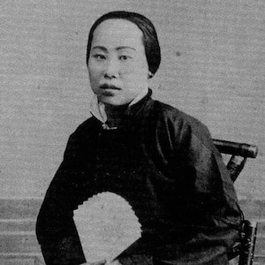 Thumbnail image of Northern Chinese woman with foot binding.
