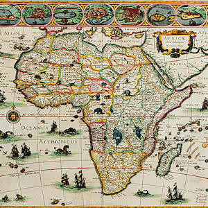 """Africae Novo"" Map"