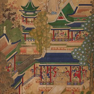 Thumbnail image of a Korean painting from MIA's Art of Asia website