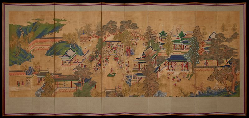 Korean painting from MIA's Art of Asia website