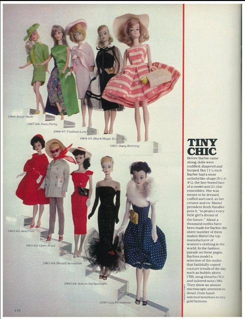 Barbie Turns 21 magazine article
