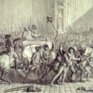 Image of Bertier de Sauvignon, Intendant of Paris, is Led to His Punishment