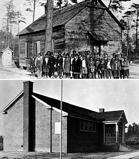 Photographs of Blocksom's School in Sussex County in Rural Delaware