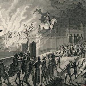 Burning the Guardhouse on the Pont Neuf