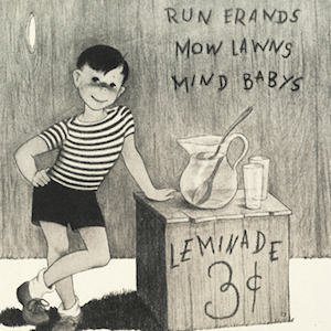 Electric Power and Light Company Ad of boy selling lemonade thumbnail image