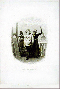 Image of King Louis XVI before his execution