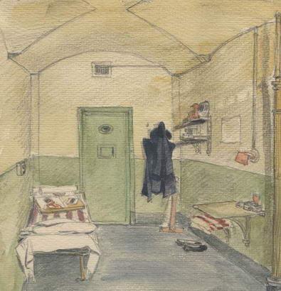 Leningrad Internal Prison cell