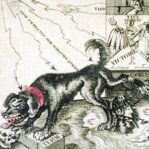 I Am Called Cerberus but Am Also a Chameleon: Napoleon Being Sucked into Hell